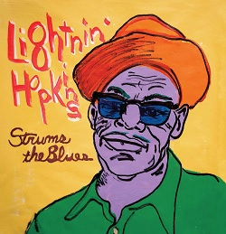 LIGHTNIN' HOPKINS - STRUMS THE BLUES
