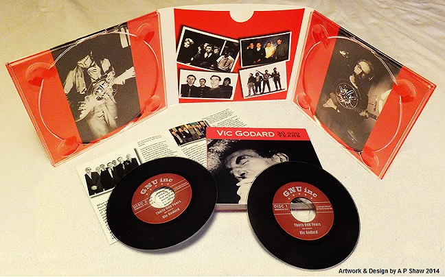 VIC GODARD - 30 ODD YEARS