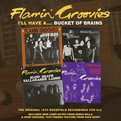 THE FLAMIN' GROOVIES - I'LL HAVE A...BUCKET OF BRAINS