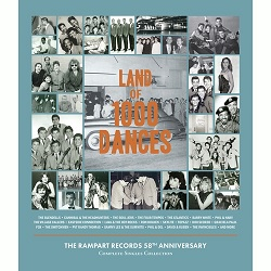 VARIOUS - LAND OF 1000 DANCES - THE RAMPART RECORDS COMPLETE SINGLES COLLECTION