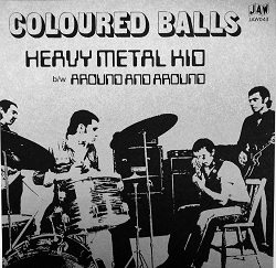 COLOURED BALLS - HEAVY METAL KID
