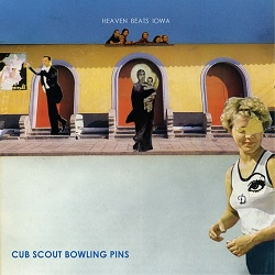 CUB SCOUT BOWLING PINS  - HEAVEN BEATS IOWA
