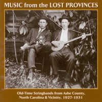 VARIOUS - MUSIC FROM THE LOST PROVINCES