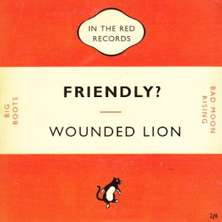 WOUNDED LION - FRIENDLY