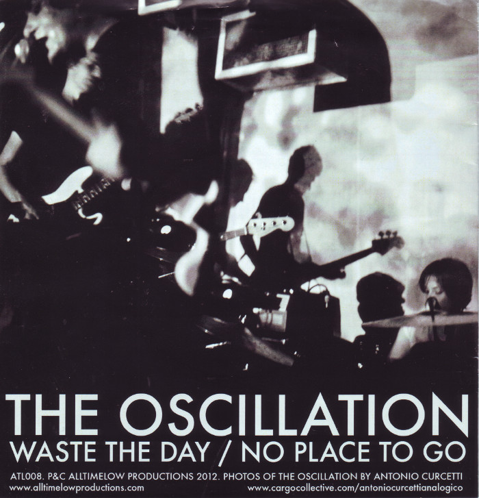 OSCILLATION, THE - NO PLACE TO GO