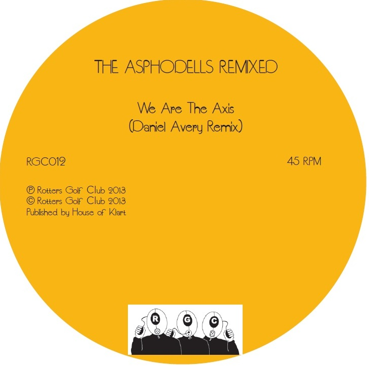 THE ASPHODELLS - REMIXED (WOODEN SHJIPS & DANIEL AVERY)