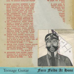 TEENAGE GUITAR - FORCE FIELDS AT HOME