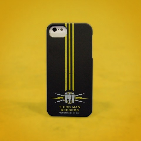 THIRD MAN MERCHANDISE - 3 STRIPE IPHONE 5 CASE
