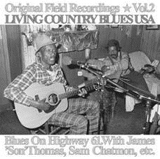 BLUES ON HIGHWAY 61 - ORIGINAL FIELD RECORDINGS VOL: 2 / LIVING COUNTRY BLUES