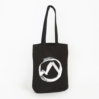ERASED TAPES COLLECTION - BLACK TOTE BAG