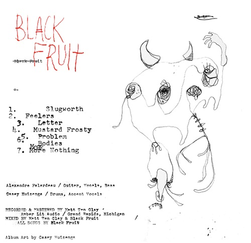 BLACK FRUIT / FACTOTUM - SPLIT 2